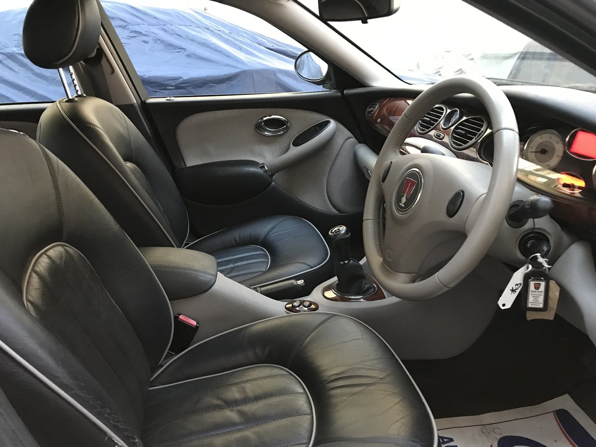 2006 ROVER 75 2.0 CDTI CLUB 1 OWNER FROM NEW 65k MILES For Sale (picture 8 of 10)