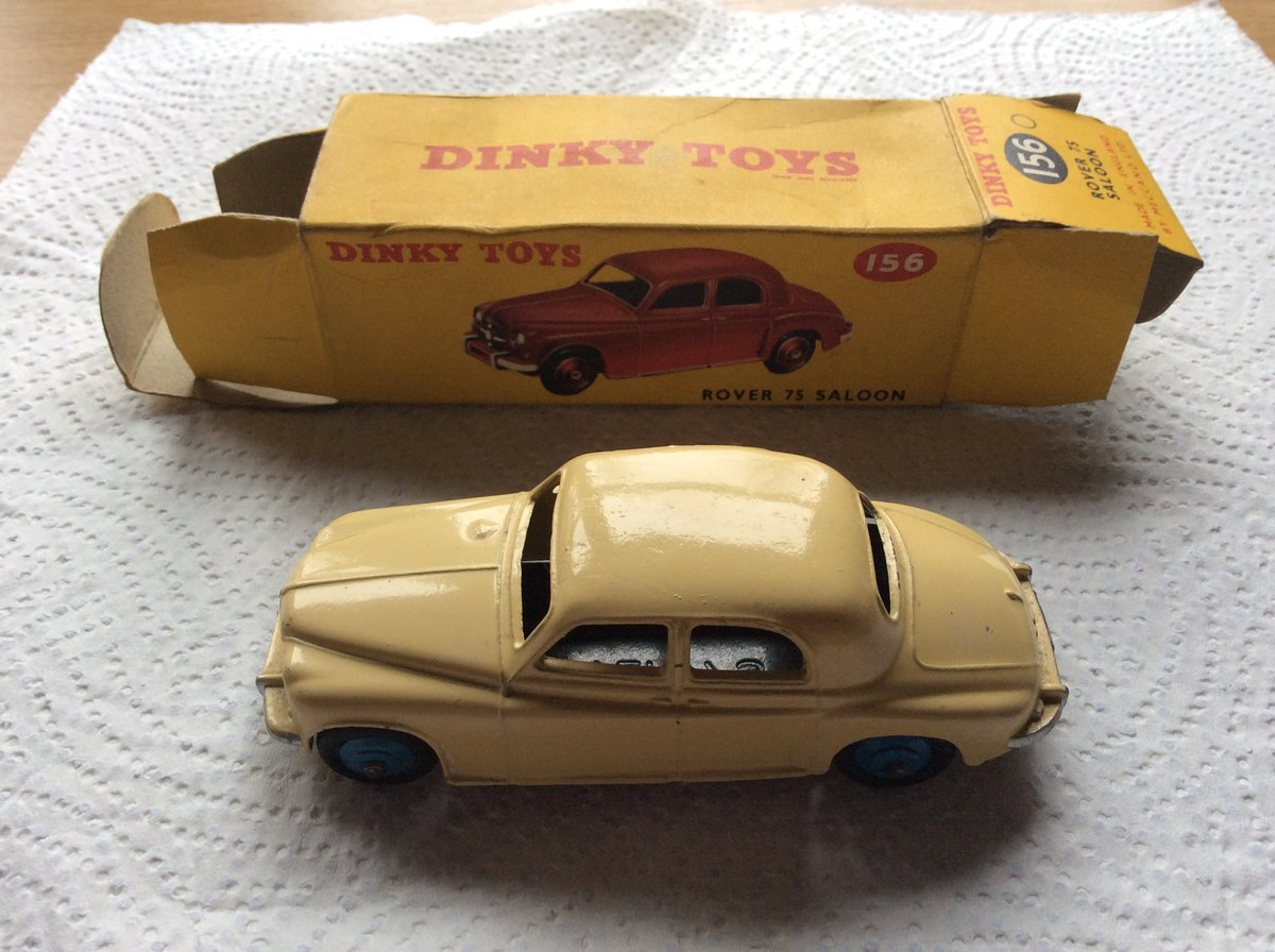 Excellent DINKY MODEL 156 ROVER 75 For Sale (picture 1 of 6)