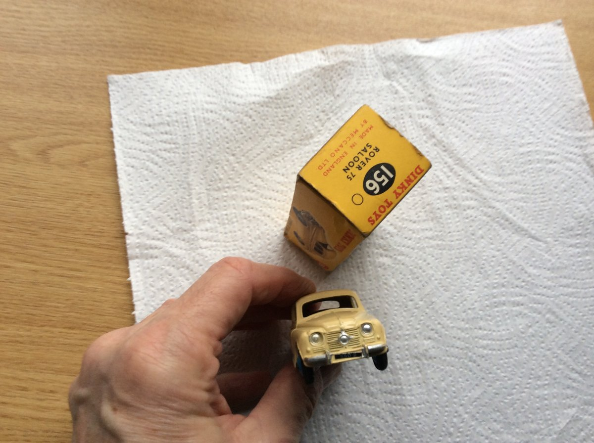 Excellent DINKY MODEL 156 ROVER 75 For Sale (picture 5 of 6)