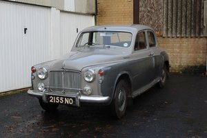 Picture of Rover 105R 1958 - To be auctioned 26-03-21 For Sale by Auction
