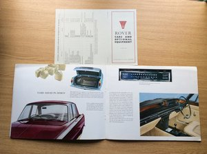 Rover 2000 sales brochure