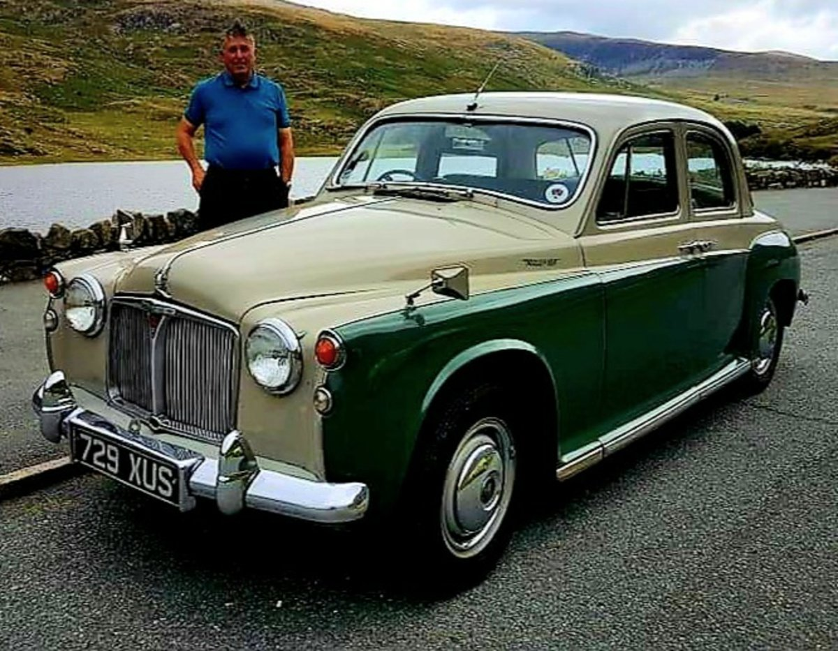 1962 ROVER P4 100 SOLD (picture 1 of 12)