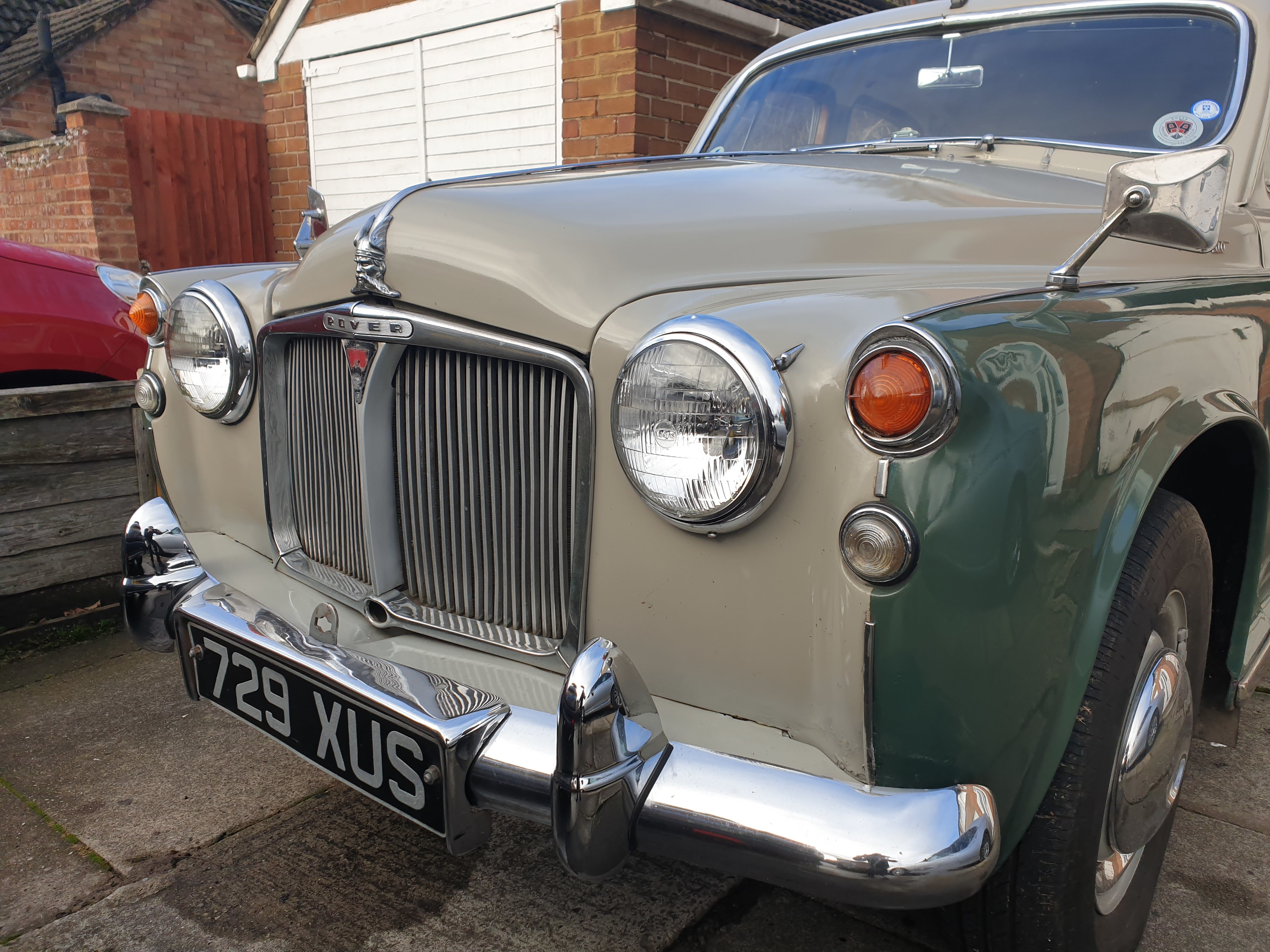 1962 ROVER P4 100 SOLD (picture 7 of 12)