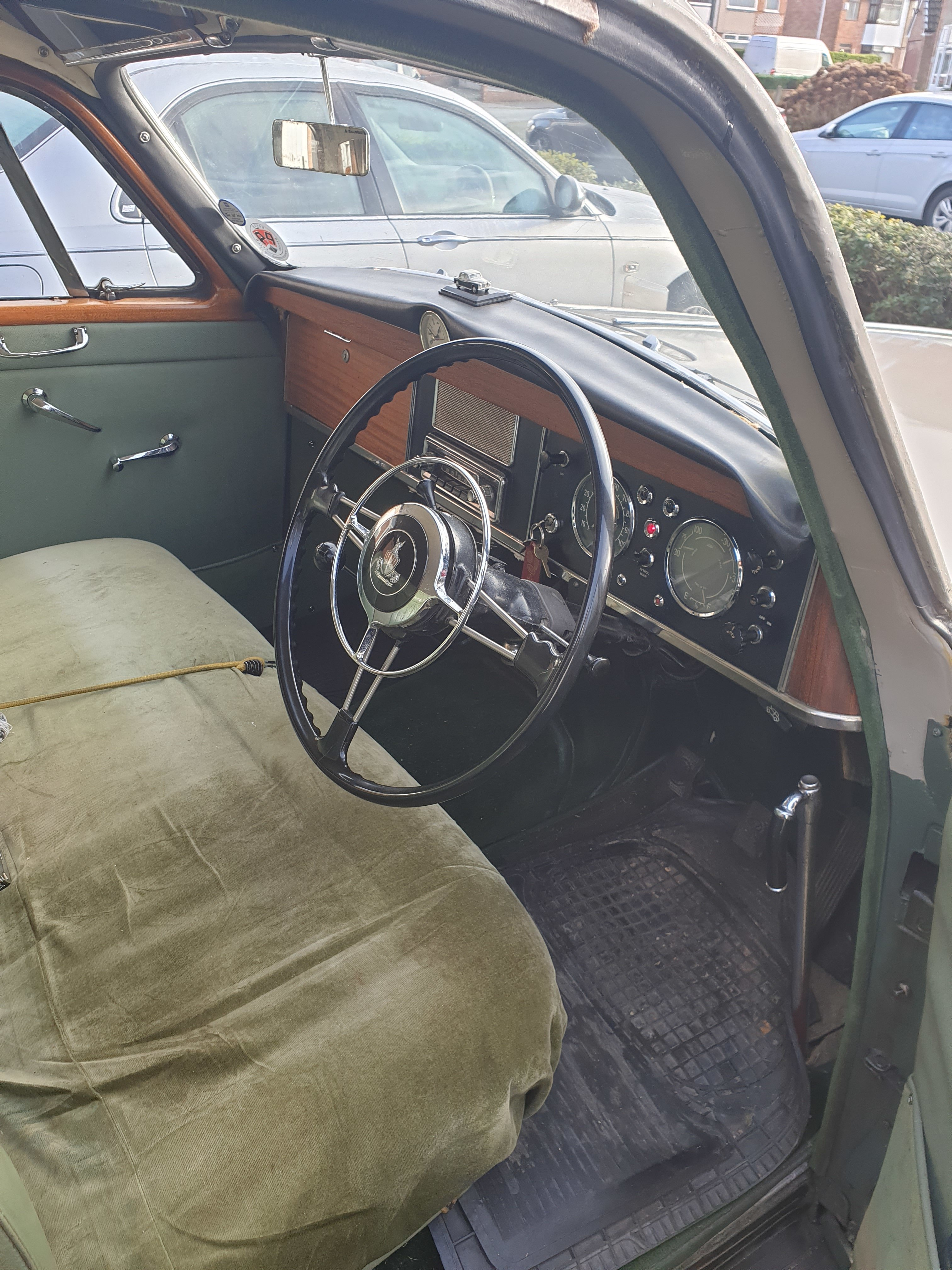 1962 ROVER P4 100 SOLD (picture 11 of 12)