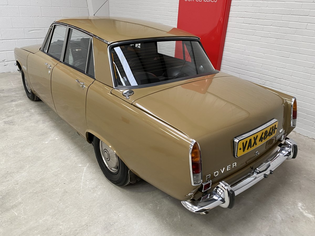 Sorry Now Sold - Rover P6 3500 V8 2 owners 31000 miles!!