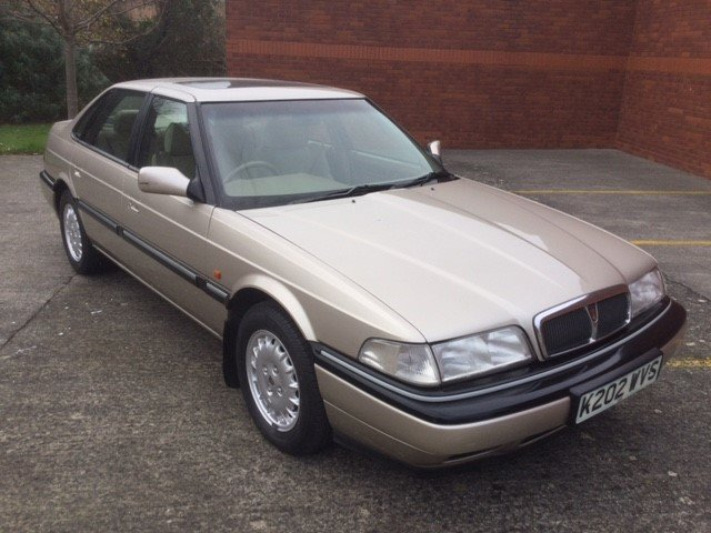 1992 Rover 800 Sterling Saloon For Sale (picture 1 of 6)