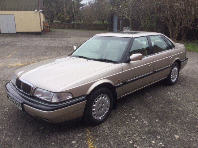 1992 Rover 800 Sterling Saloon For Sale (picture 5 of 6)