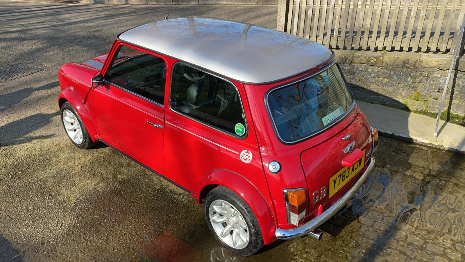 2001 Solar Red Mini Sportspack For Sale (picture 5 of 12)