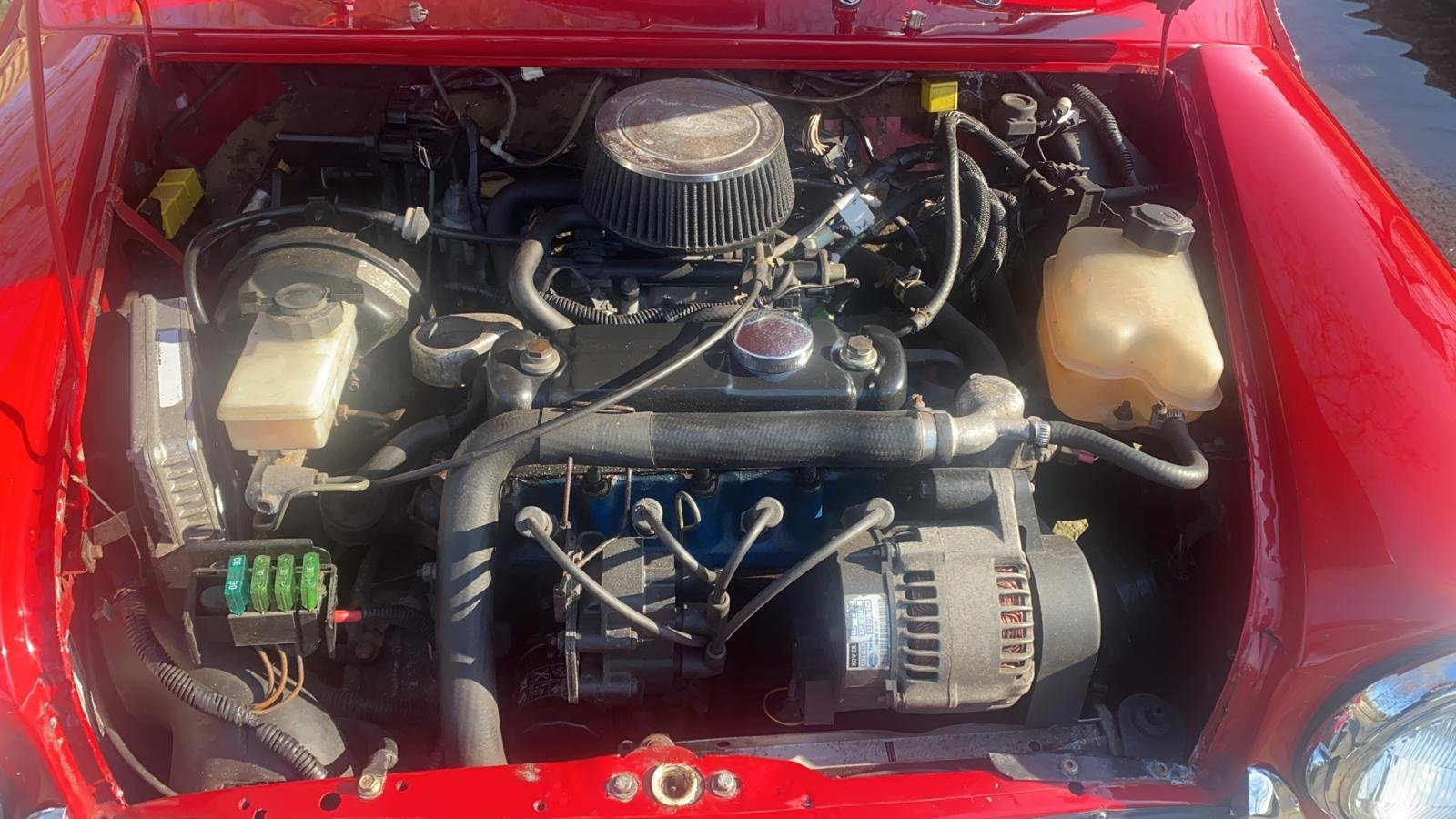 2001 Solar Red Mini Sportspack For Sale (picture 11 of 12)