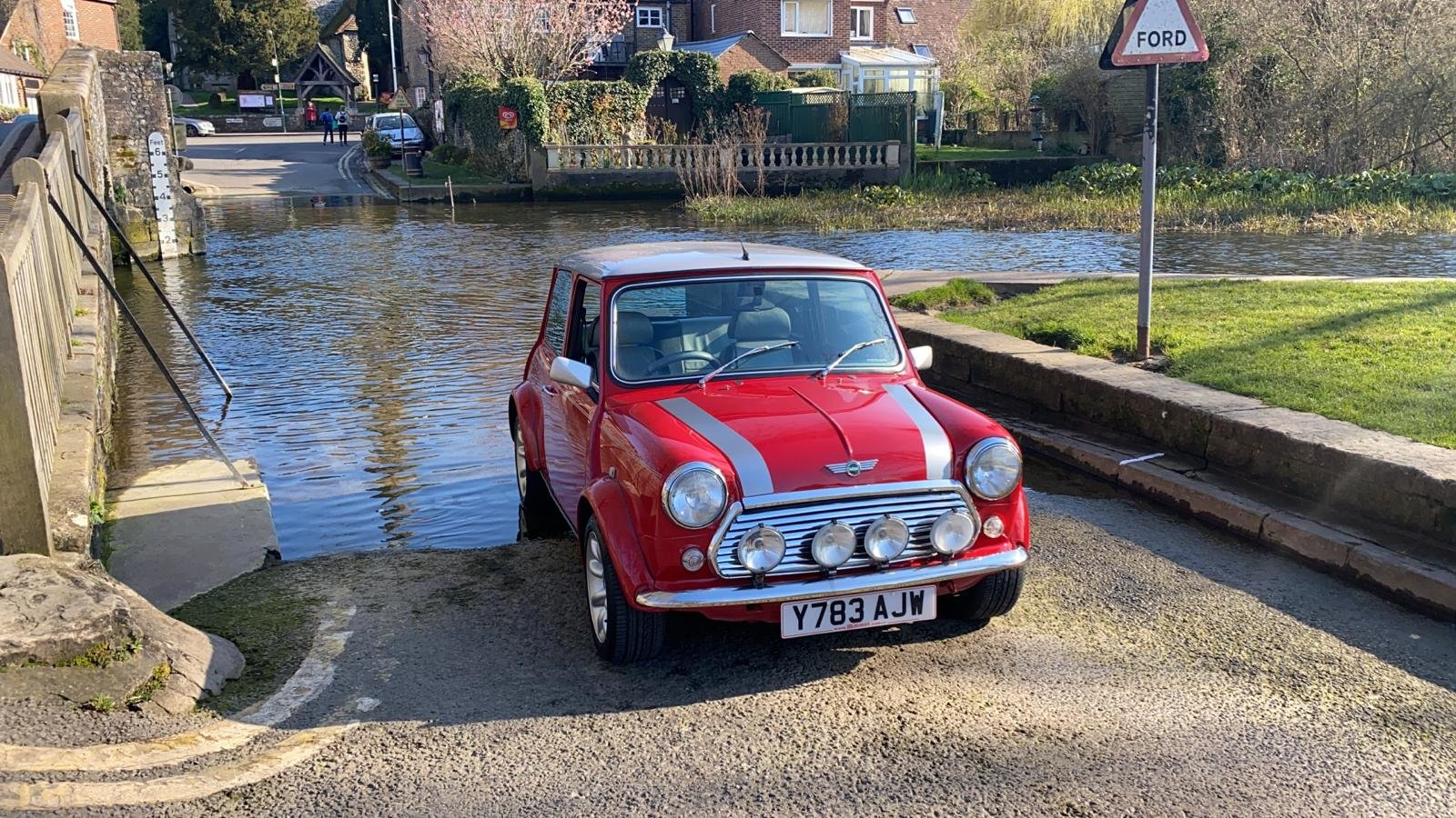 2001 Solar Red Mini Sportspack For Sale (picture 12 of 12)