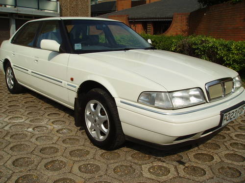 1996 Rover 800 820 Si Saloon with history, unmolested example  For Sale (picture 1 of 6)