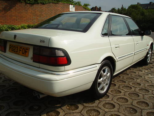 1996 Rover 800 820 Si Saloon with history, unmolested example  For Sale (picture 4 of 6)
