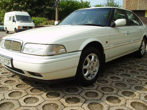 1996 Rover 800 820 Si Saloon with history, unmolested example  For Sale (picture 6 of 6)