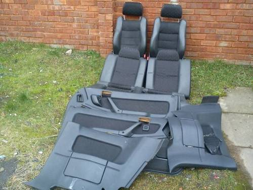 ROVER TOM-CAT HALF LEATHER INTERIOR For Sale (picture 1 of 6)