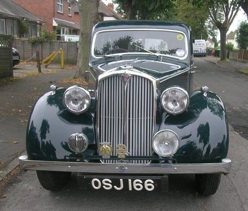 1946 Rover 10 P2 Saloon SOLD