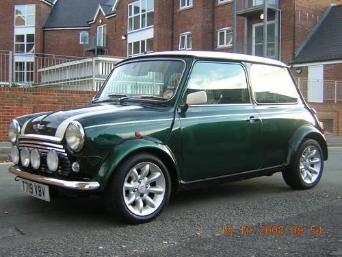 Mini Cooper 1999 Greenwhite Sold Car And Classic