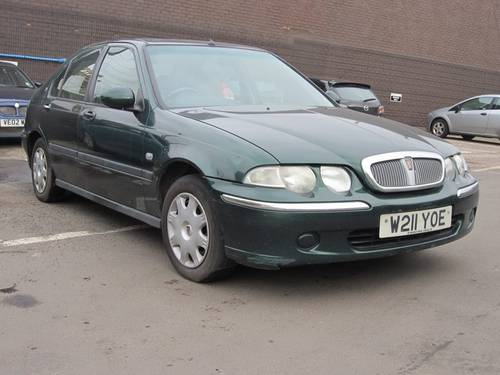 2000 Rover 45 2.0 TD For Sale (picture 1 of 4)