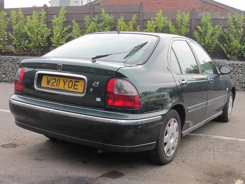 2000 Rover 45 2.0 TD For Sale (picture 2 of 4)