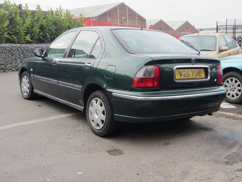2000 Rover 45 2.0 TD For Sale (picture 3 of 4)