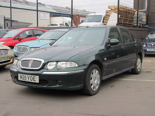 2000 Rover 45 2.0 TD For Sale (picture 4 of 4)