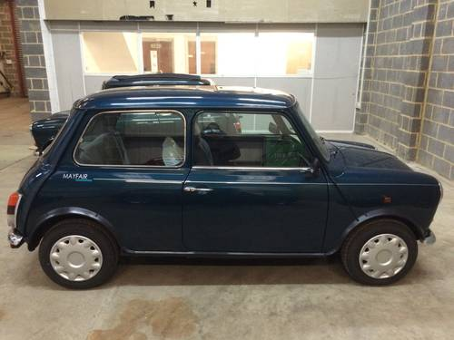 1994 Mini 1.3 Auto 1992 excellent Original Condition For Sale (picture 1 of 6)