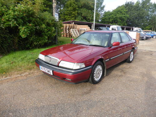 1992 Rover 827 Sterling SALOON V6 24Valve Honda Engine  For Sale (picture 1 of 6)