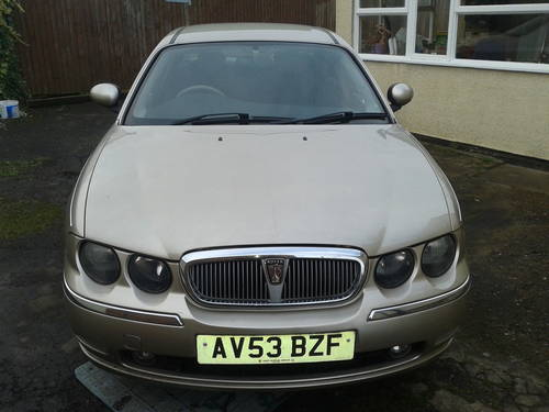 2003 ROVER 75 1.8 PETROL TURBO 52K MILES ONLY For Sale (picture 1 of 6)