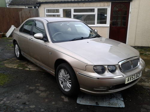 2003 ROVER 75 1.8 PETROL TURBO 52K MILES ONLY For Sale (picture 2 of 6)