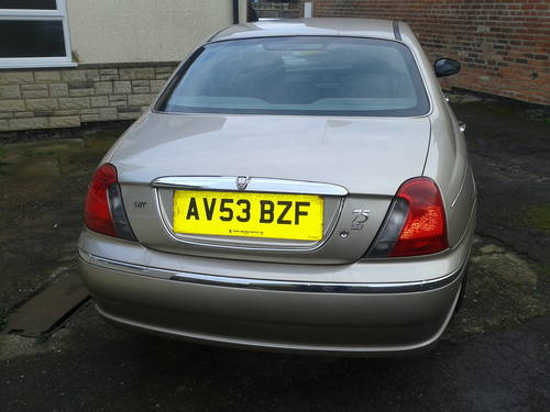 2003 ROVER 75 1.8 PETROL TURBO 52K MILES ONLY For Sale (picture 3 of 6)