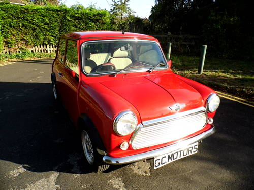 2000 Mini seven in red with only 43k 1 owner For Sale (picture 1 of 6)