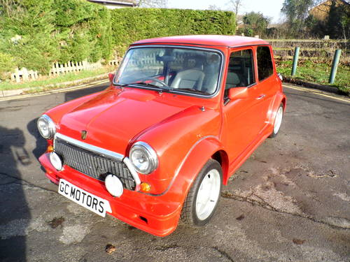 1992 Superb Mini ERa Turbo in flame red with 38k For Sale (picture 1 of 6)