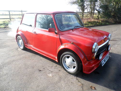 1992 Superb Mini ERa Turbo in flame red with 38k For Sale (picture 2 of 6)