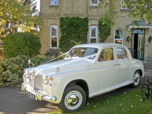 1950's-60's style Rover Wedding Car (1964) Lincoln For Hire (picture 1 of 6)