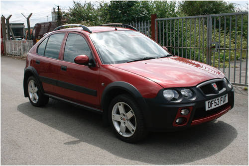 2003 Rover Streetwise Diesel For Sale (picture 1 of 1)