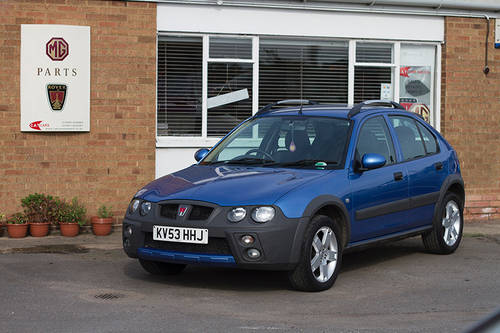 2003 Rover Streetwise 1.4 Petrol For Sale (picture 1 of 1)