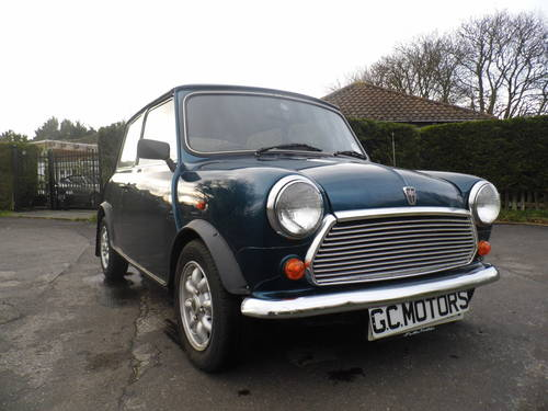 1993 Rover Mini Rio 1300 only 29,000 miles in very good condition For Sale (picture 1 of 6)