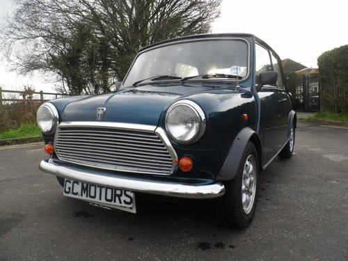 1993 Rover Mini Rio 1300 only 29,000 miles in very good condition For Sale (picture 2 of 6)