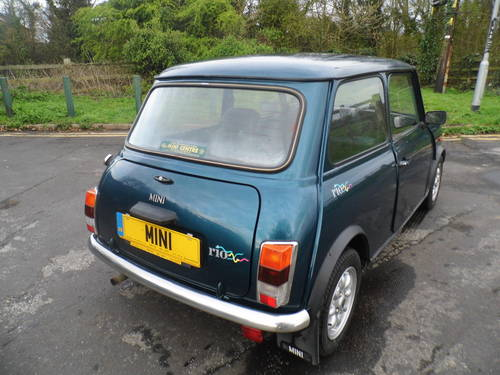 1993 Rover Mini Rio 1300 only 29,000 miles in very good condition For Sale (picture 4 of 6)