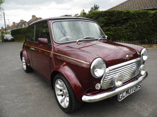 Mini 40 LE 1999 in Burgundy For Sale (picture 1 of 6)