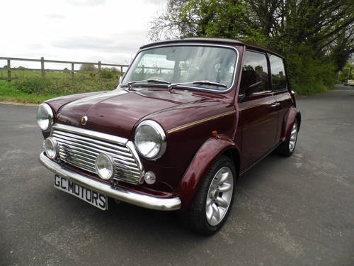Mini 40 LE 1999 in Burgundy For Sale (picture 2 of 6)