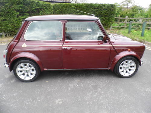 Mini 40 LE 1999 in Burgundy For Sale (picture 3 of 6)
