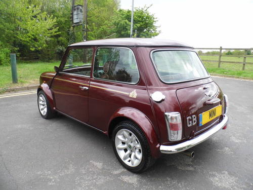 Mini 40 LE 1999 in Burgundy For Sale (picture 4 of 6)
