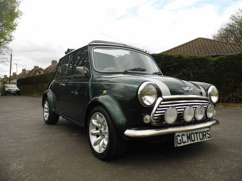 2000 Mini Cooper Sportspack in BRG with 40k and E/Roof For Sale (picture 1 of 6)
