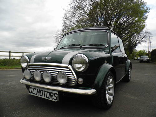 2000 Mini Cooper Sportspack in BRG with 40k and E/Roof For Sale (picture 2 of 6)