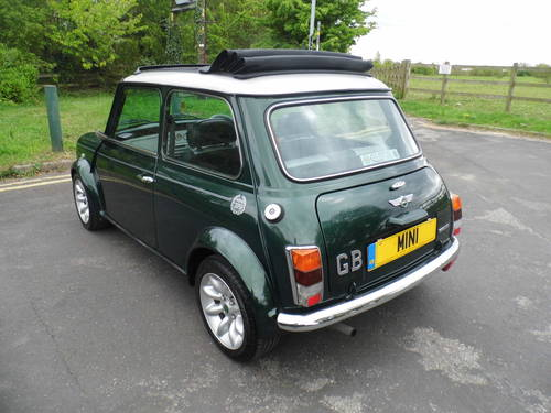 2000 Mini Cooper Sportspack in BRG with 40k and E/Roof For Sale (picture 4 of 6)