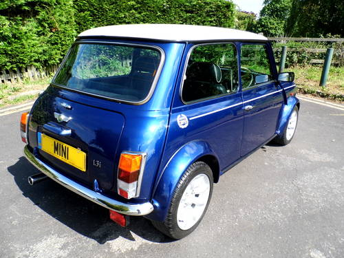 2000 Mini Cooper Tahiti Blue 1,948 miles as New SOLD (picture 3 of 6)