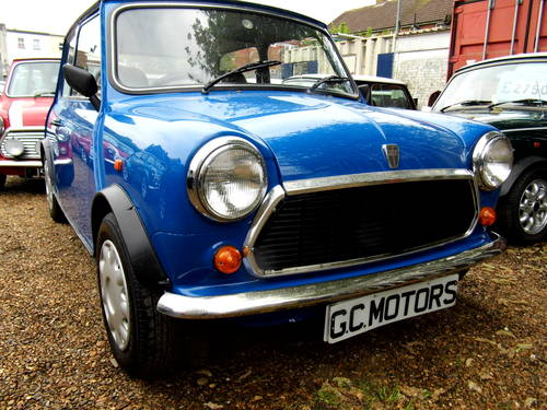1996 Rover Mini Sprite 1300 with 27k in Electric blue For Sale (picture 1 of 6)