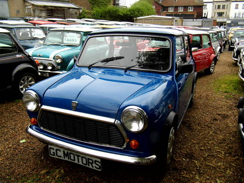 1996 Rover Mini Sprite 1300 with 27k in Electric blue For Sale (picture 2 of 6)