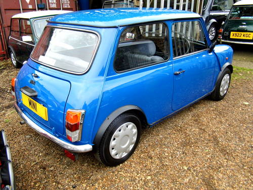 1996 Rover Mini Sprite 1300 with 27k in Electric blue For Sale (picture 3 of 6)
