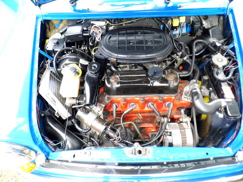 1996 Rover Mini Sprite 1300 with 27k in Electric blue For Sale (picture 6 of 6)